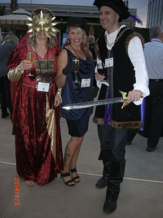 Conference-goers in costume to celebrate Tomie dePaola's 80th birthday