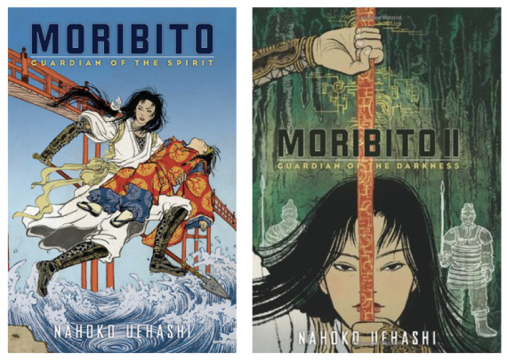 Moribito I and Moribito II (Goodreads)