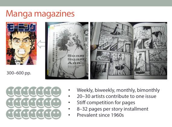 Manga magazine slide by Miki Yamamoto AFCC 2016