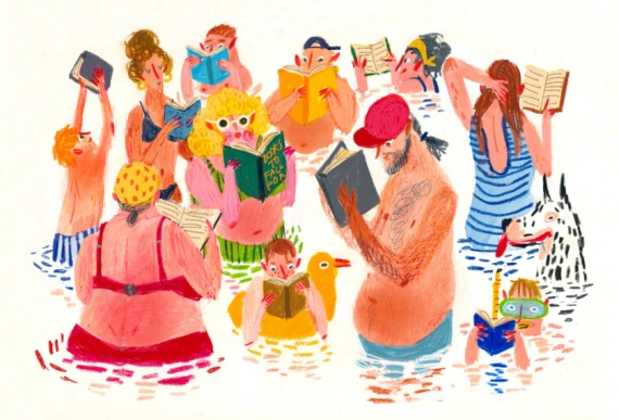 elina-braslina-swimming-and-reading